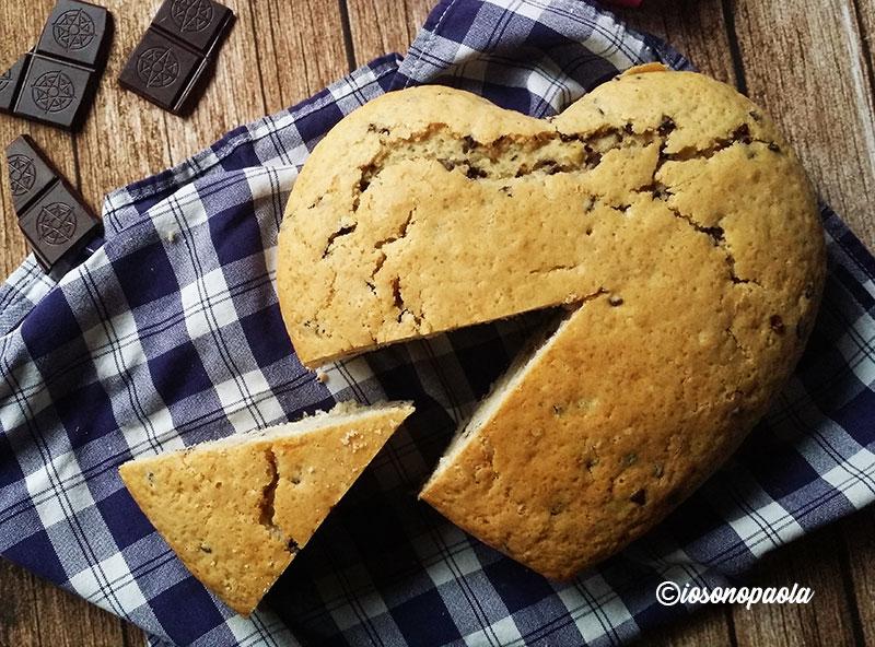 torta al cocco e cioccolato
