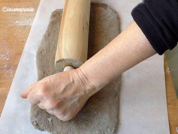 preparazione del pan brioche