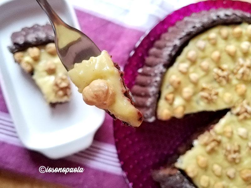 crostata morbida alla crema