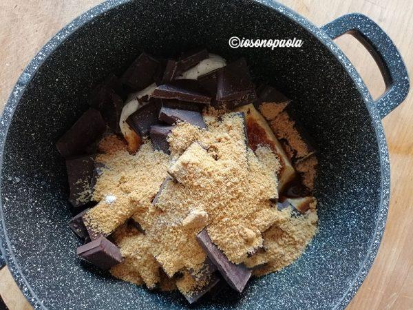 crema al cioccolato senza latte