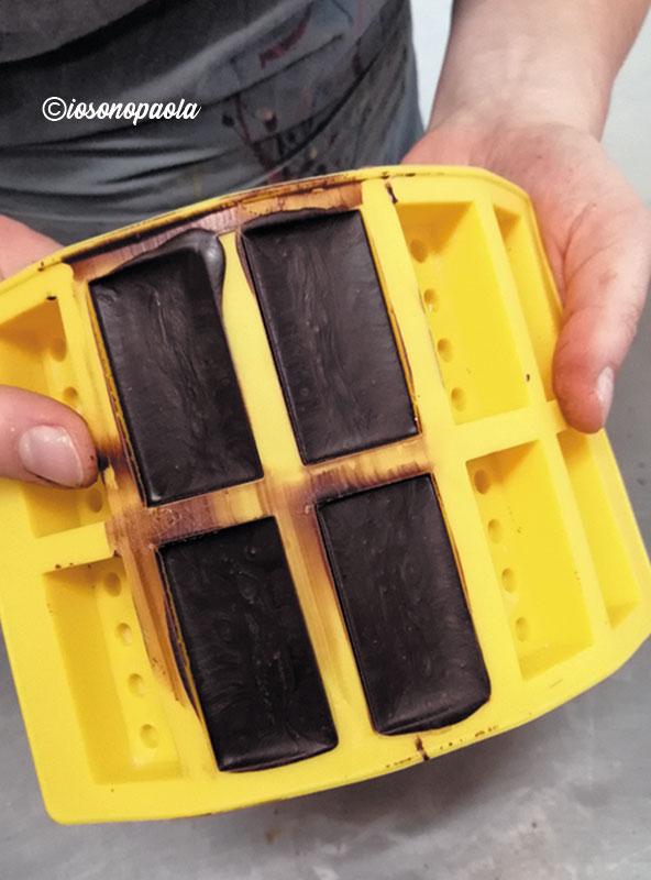 creare cioccolatini con stampi in silicone