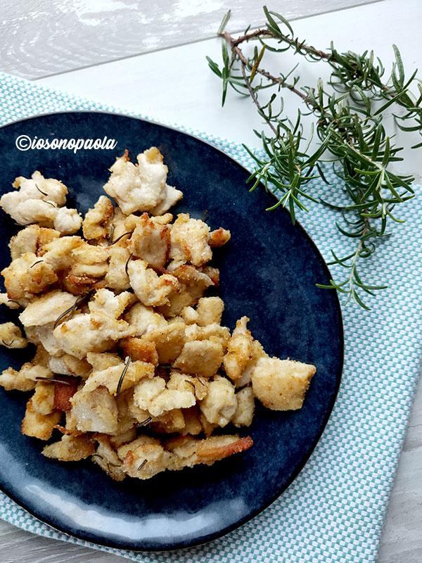 petto di pollo impanato