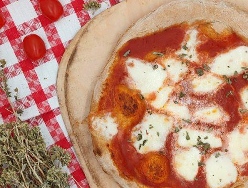 pizza con doppia cottura